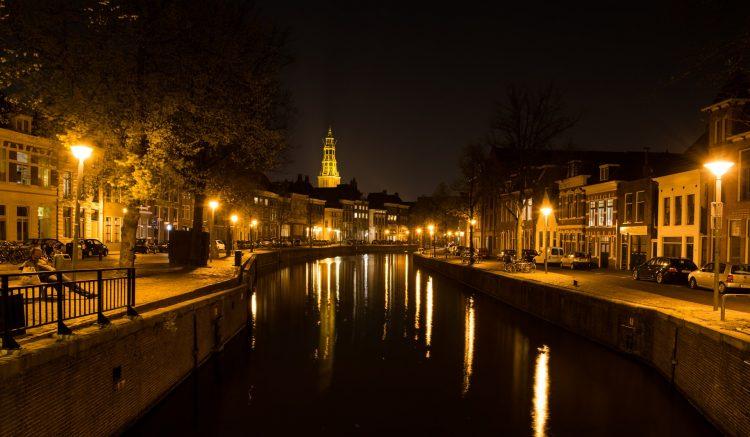 Paesi Bassi notte